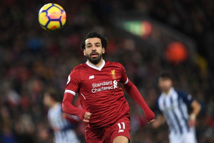 Salah Targetkan Juarai Liga Inggris bersama Liverpool