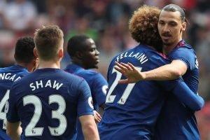 Ibrahimovic Memimpin Man United Untuk Mengalahan Sunderland