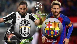 Juventus vs Barcelona, bertanding di Liga Champions Dengan kedudukan skor 2-0