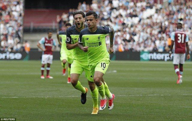 5 Hal dari Kemenangan Liverpool dengan West Ham