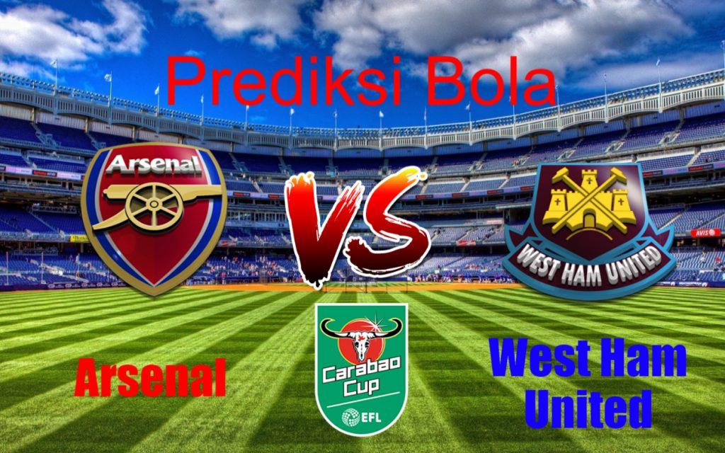 Prediksi Arsenal vs West Ham United 20 Desember 2017